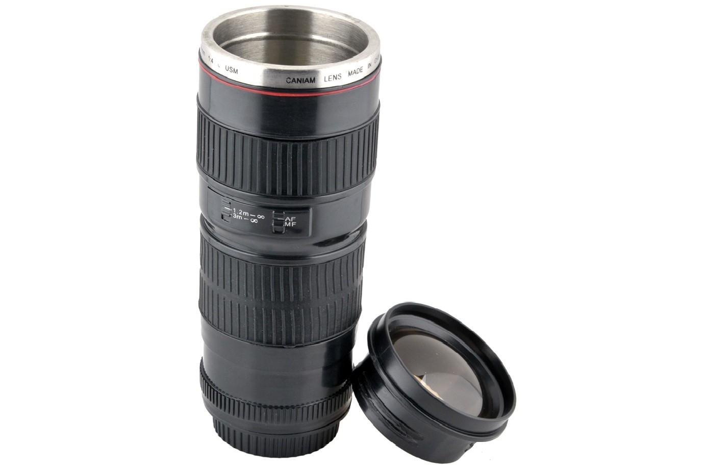 Кружка-термос объектив Canon EF