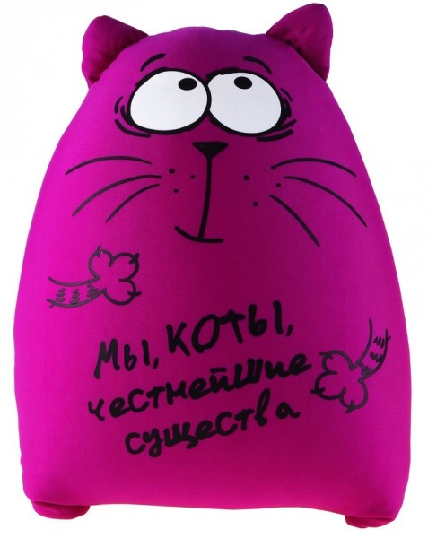 Антистрессовая игрушка Честный кот