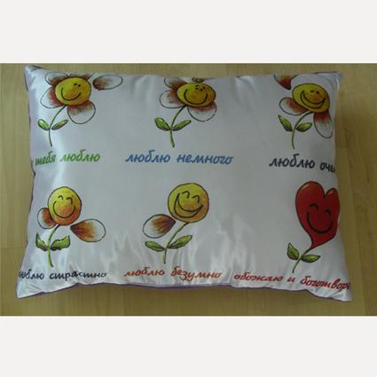 Подушка «Признание на ромашке»