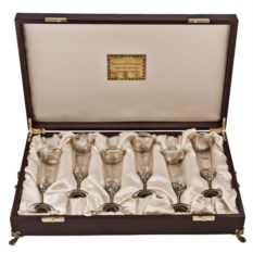 Набор из 6-ти бокалов для шампанского Богемия