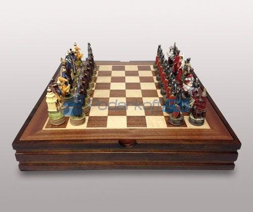Шахматы Русско-монгольское сражение