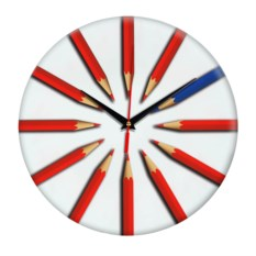 Настенные часы Карандаши