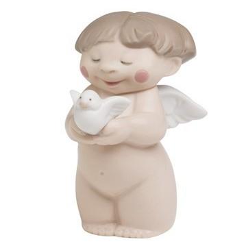 Фарфоровая статуэтка  Дружественный ангелочек