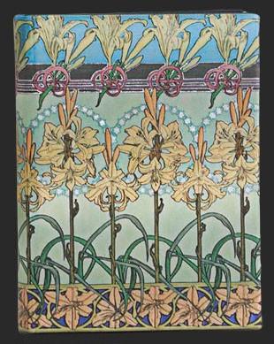 Записная книжка Тигровая лилия