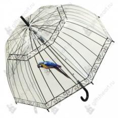 Зонт-трость Птичка в клетке
