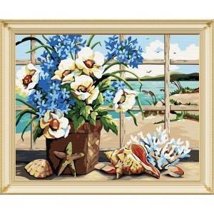 Картина по номерам Вид из окна