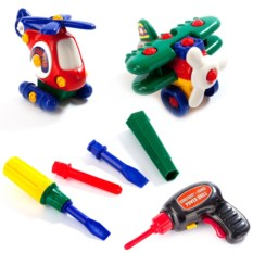 Детский конструктор «Маленькая авиация»