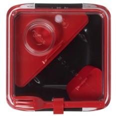 Красно-черный ланч-бокс Box Appetit