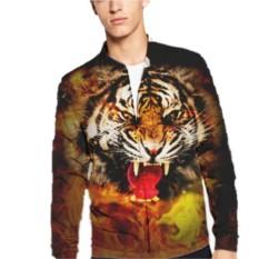 Мужской бомбер Тигр