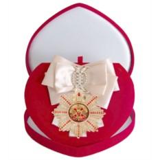 Большой Орден с кремовой лентой За мужество