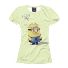 Женская футболка Влюбился