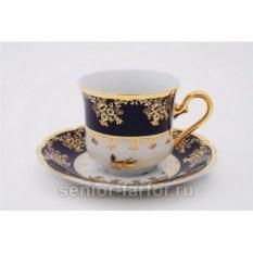 Набор чашек 0,15 л с блюдцем Leander Мэри-Энн 31026