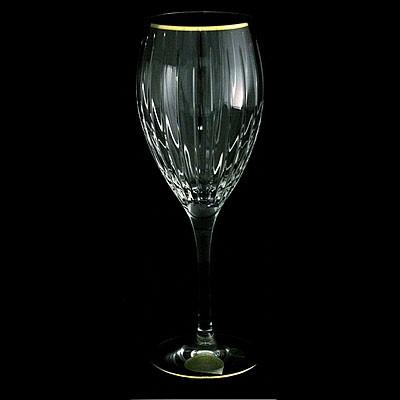Набор из 6 хрустальных бокалов для вина 0,275 л Same Пиза, золото