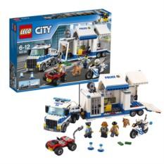 Конструктор Лего Город Мобильный командный центр