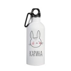 Именная бутылка для воды Карина