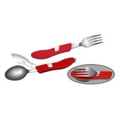 Набор Вилка-ложка-нож 4 в 1