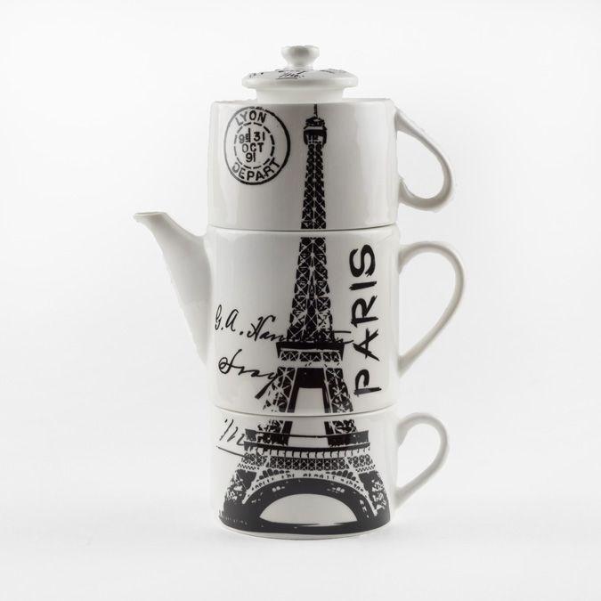 Чайный набор «Символ Франции»