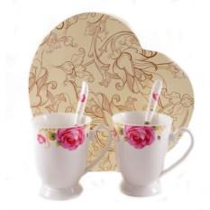 Чайный набор на Розы 2 персоны