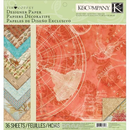 Набор бумаги для скрапбукинга K&Company Путешествие, 36 листов