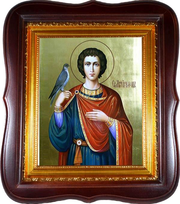 Трифон Апамейский Святой мученик. Икона на холсте