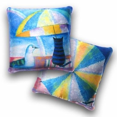 Декоративная подушка «Радуга»