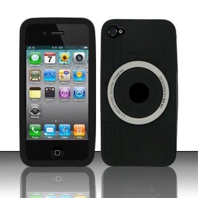 Силиконовый чехол-камера для Iphone 4g