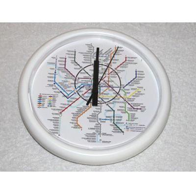 Часы Московское метро