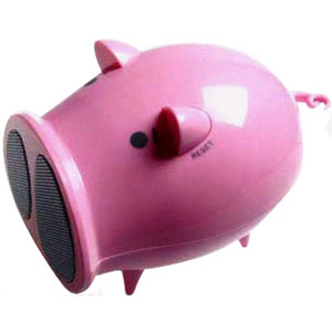 Радио в виде Свинки