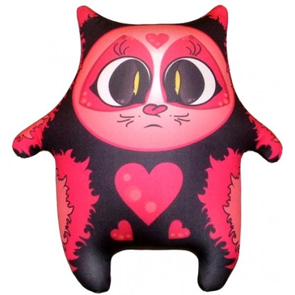Игрушка антистресс Черный котя  (большой)