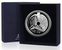 Серебряная закладка для книг Мерседес
