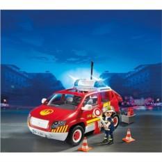 Конструктор Пожарная служба. Пожарная машина командира