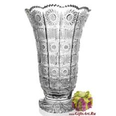 Классическая хрустальная ваза Снежинка