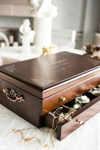 Шкатулка для ювелирных украшений «Ларец»