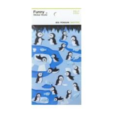 Наклейки Funny Penguins