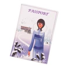 Обложка для паспорта Путешествия. Зима