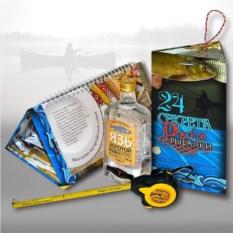 Подарочный набор для мужчин «24 секрета русской рыбалки»