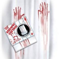 Кровавая занавеска для душа Привет от Хичкока
