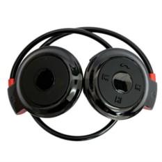 Чёрные беспроводные наушники Mini503 bluetooth с mp3-плеером