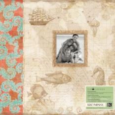 Альбом для скрапбукинга K&Company Путешествие