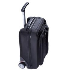 Чёрный чемодан на колесах Sky partner
