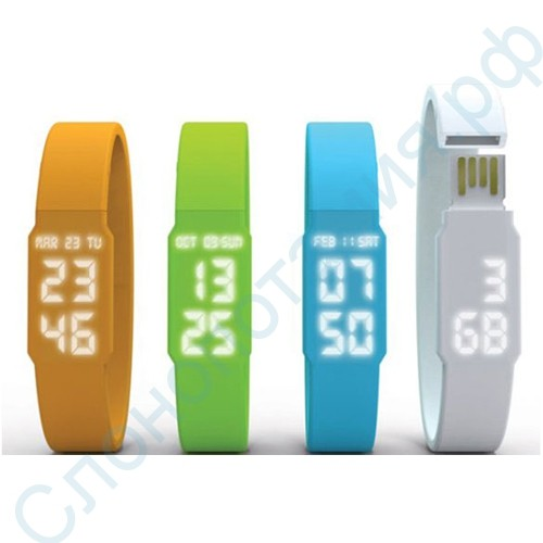 Наручные часы LED Watch USB Flash