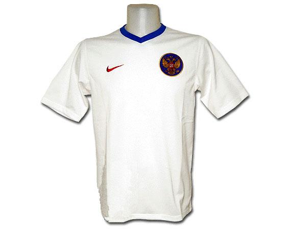 Майка «Россия» (реплика Nike, сезон-2006) белая