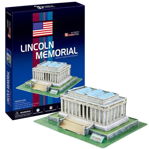 3D пазл Cubic Fun Мемориал Линкольна (США)