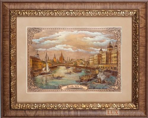 Офорт Москва 19 век