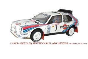 Модель автомобиля Lancia delta