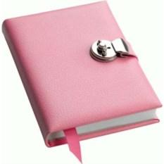 Записная книжка с замочком Pink (формат A5)