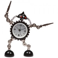 Часы с держателем фото «Robot»