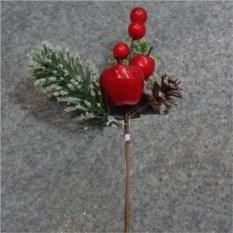 Декоративное украшение Новогодние ягоды