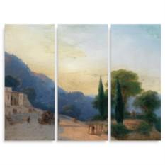 Модульная картина Айвазовский. Летний день в Крыму