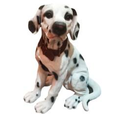 Декоративная садовая фигура Собака Далматинец